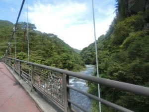 吹割の滝の橋