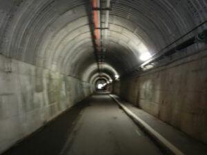 寸又峡の天子のトンネル