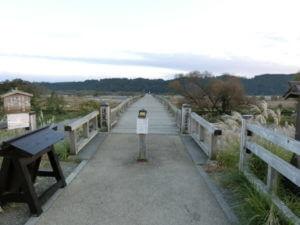 蓬莱橋の入り口
