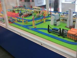 電車とバスの博物館のキッズワールド