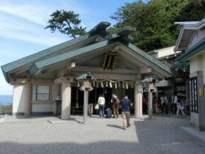 二見興玉神社の本殿