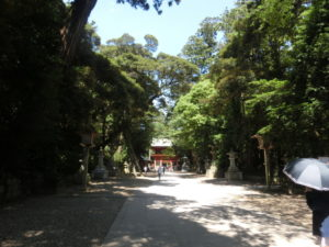 鹿島神宮の境内