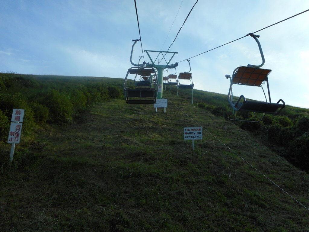 大室山ペアリフト
