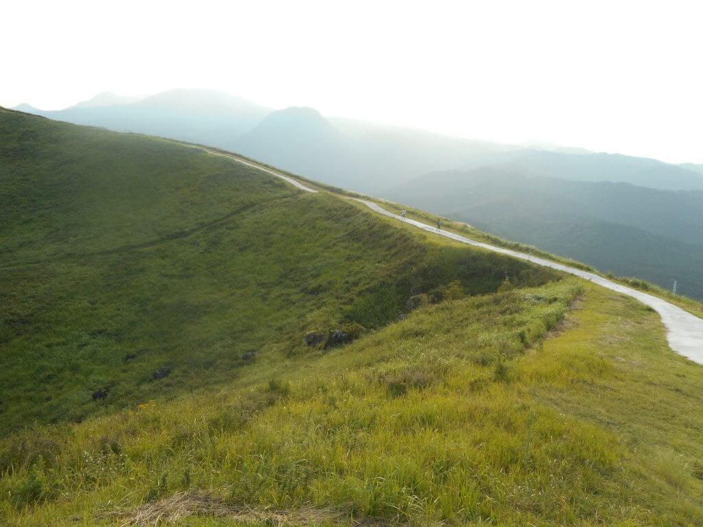 大室山山頂ハイキング