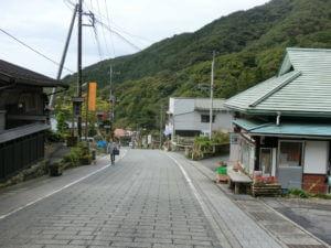 榛名神社の参道