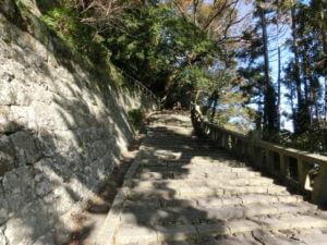 久能山東照宮階段